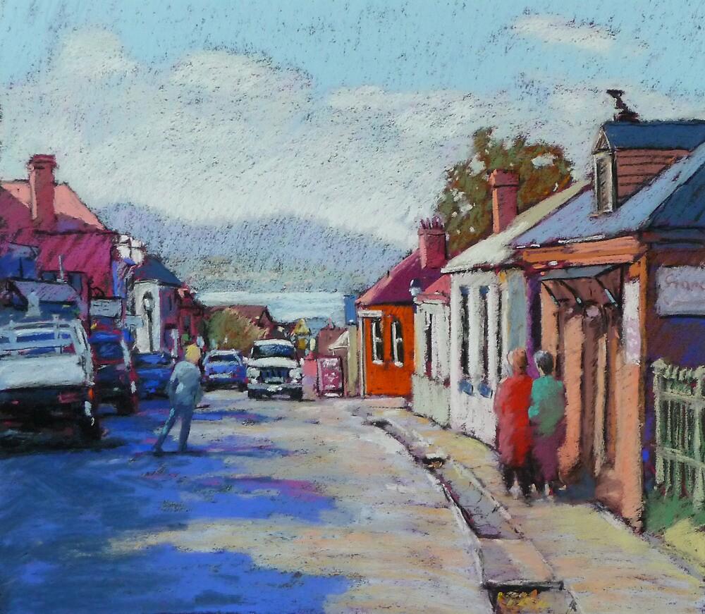 Battery Point, Hobart,Tasmainia by Mick Kupresanin