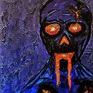 Blue Burning Wraith by Austin Gragg