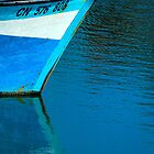 Blue boat by cclaude