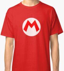 Super Mario Mario Icon Classic T-Shirt