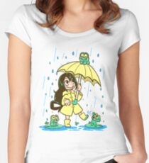 Best Frog Girl Women's Fitted Scoop T-Shirt