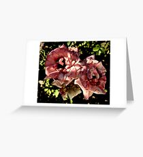 Roses Two By Two Greeting Card