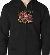 Roses Two By Two Zipped Hoodie