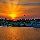 The Intercoastal Waterway at Sunset by TJ Baccari Photography