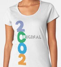 Original Geboren im Jahr 2002 Frauen Premium T-Shirts