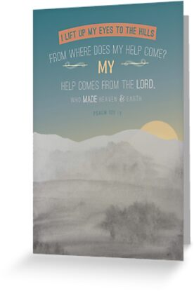 Modern watercolour painting grey blue design scripture bible verse modern watercolour painting grey blue design scripture bible verse psalm 121 verse 1 m4hsunfo
