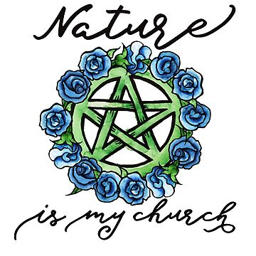 Nature is my Church  by Boogiemonst