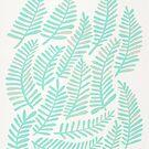 Wedel - Minze Grüne Palette von Cat Coquillette