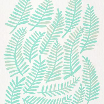 Fronds – Mint Green Palette by catcoq