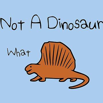 Dimetrodon - Not A Dinosaur by jezkemp