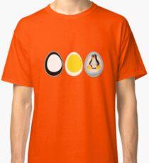 LINUX TUX  PENGUIN  3 EGGS Classic T-Shirt