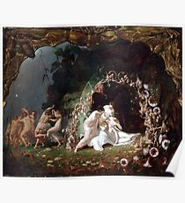 Titania Sleeping - Richard Dadd Poster