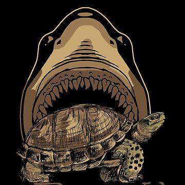 Turtle shark by GeschenkIdee