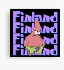 Finland. Canvas Print