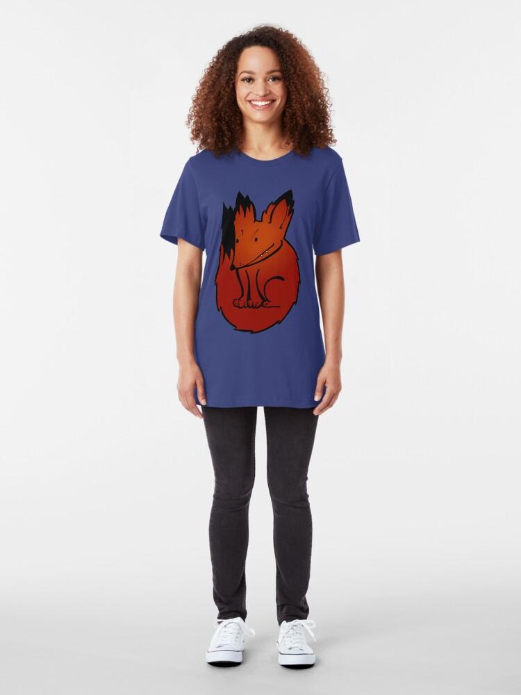 Alternate view of Foxy Slim Fit T-Shirt