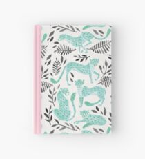 Cheetah Collection – Mint & Black Palette Hardcover Journal