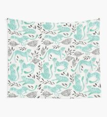Cheetah Collection – Mint & Black Palette Wall Tapestry