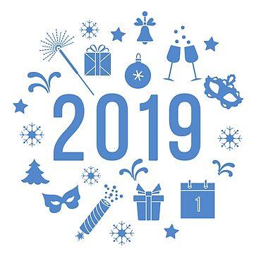Gift, fireworks, glasses, fir-tree, mask, calendar by aquamarine-p