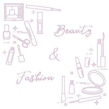 Decorative cosmetics. Accessories for nail care. by aquamarine-p