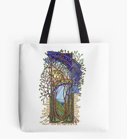 Sing for Joy - Psalm 86 Tote Bag