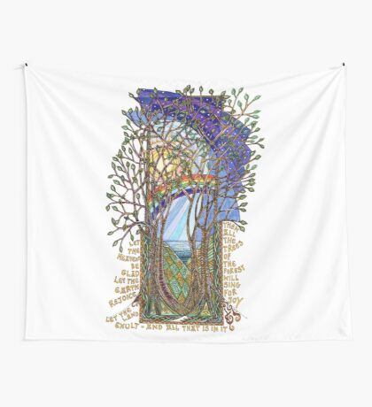 Sing for Joy - Psalm 86 Wall Tapestry