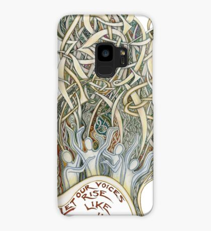 Let Our Voices Rise Like Incense Case/Skin for Samsung Galaxy
