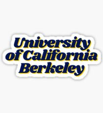University of California Berkeley Sticker