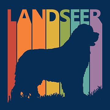 Funny Cute Landseer Dog by polveri