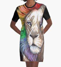 Queen Graphic T-Shirt Dress