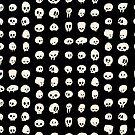 cartoon skulls by coldmonster