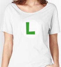 Super Mario Luigi Icon Women's Relaxed Fit T-Shirt