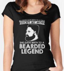 Bearded Legend T-Shirt Women's Fitted Scoop T-Shirt