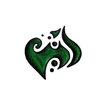 Elegant /  أنيق (green) by Jezunya
