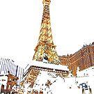 Paris Casino Eiffel Tower by John Schneider