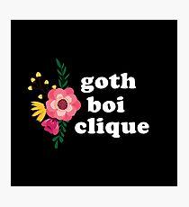 gothboiclique part.5 Photographic Print