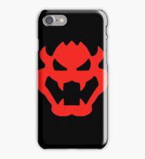 Super Mario Bowser Icon iPhone Case/Skin