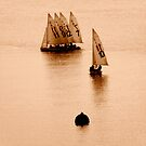 Sepia Extravaganza : The Missing Number by artisandelimage