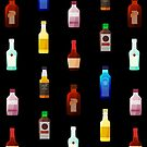Mini bottles by hahaha-creative