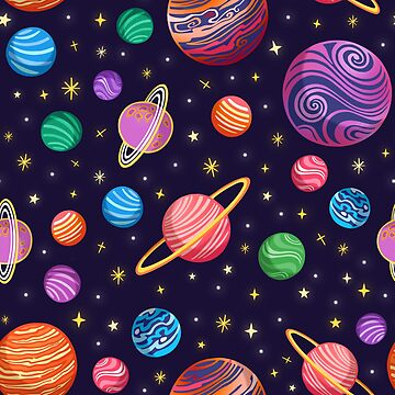 Playful Planets by christinadesign