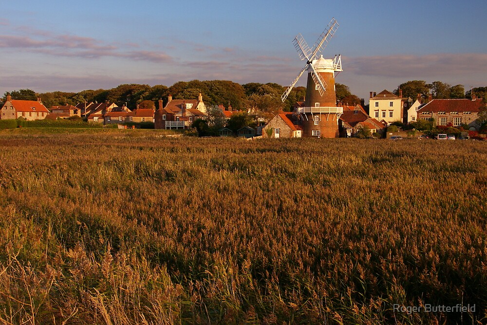 Cley, Norfolk by Roger Butterfield