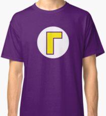 Super Mario Waluigi Icon Classic T-Shirt