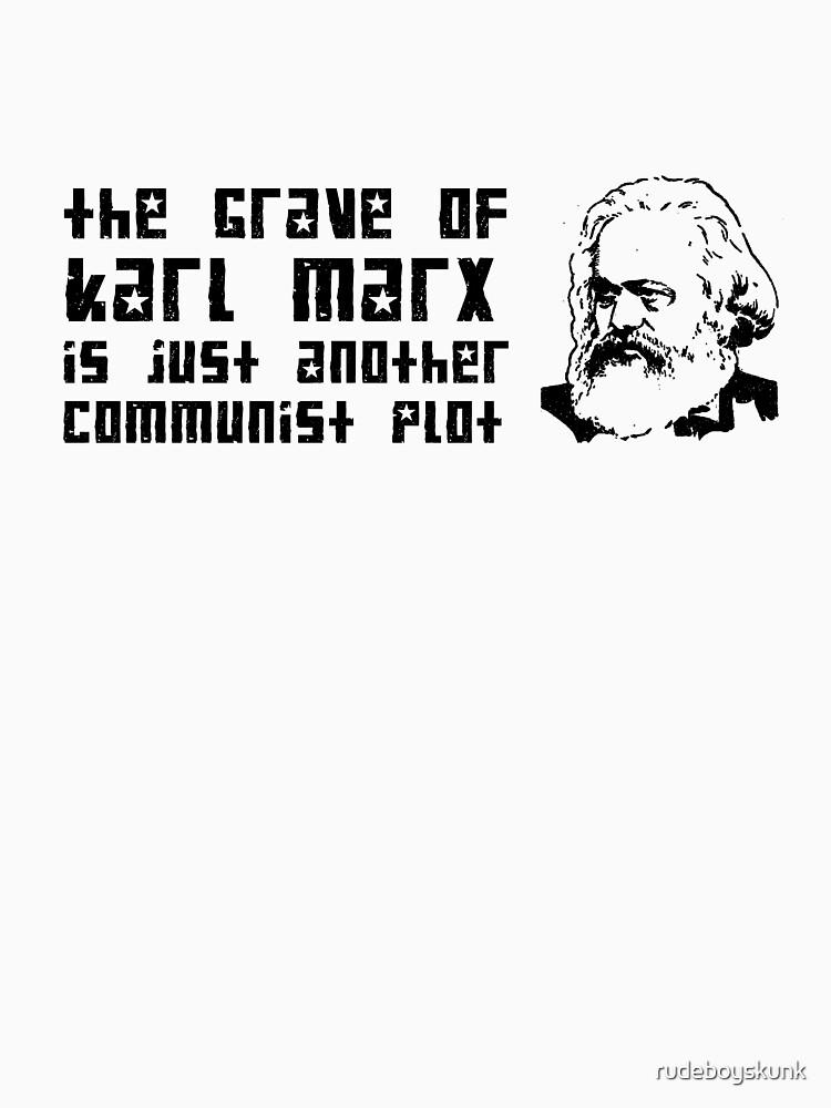 Another Communist Plot... (Black Print) by rudeboyskunk