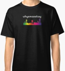 YMCK - Graphic artist and media designer united in the word game! Design with white lettering. Classic T-Shirt