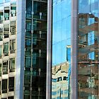 Building Reflections On Connecticut Avenue by Cora Wandel