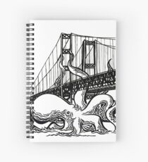 Tacoma Narrows Octopus Cahier à spirale