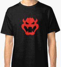 Super Mario Bowser Icon Classic T-Shirt