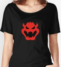 Super Mario Bowser Icon Women's Relaxed Fit T-Shirt