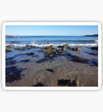 Blue Sea at Portsoy Beach Sticker