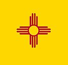 The Flag of New Mexico by Sun Dog Montana