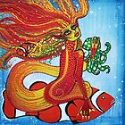 Clownfish Mermaid by Laura Barbosa